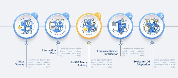 Traineeship infographic template