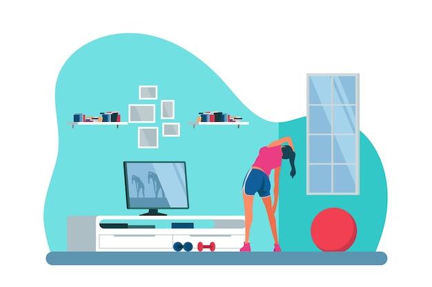 自宅でのトレーニングのコンセプト