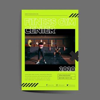 Training center flyer template