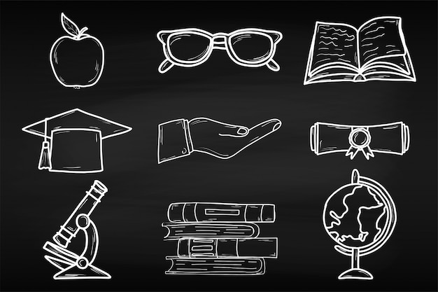 Training. world book day. april. knowledge. reading. world. for your design. sheet. chalk board. school.