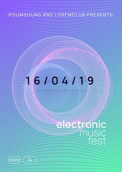 Trance event. dynamic gradient shape and line. abstract show cover concept. neon trance event flyer. techno dj party. electro dance music. electronic sound. club fest poster.