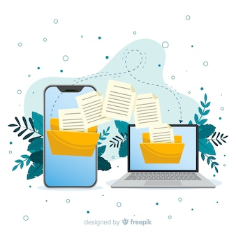 Концепция передачи файлов для целевой страницы
