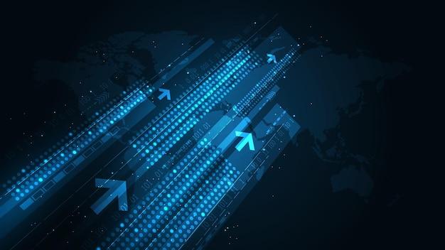 전 세계적으로 몇 초 만에 액세스할 수 있는 방대한 양의 디지털 데이터를 전송합니다.