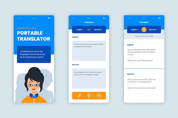 Translator application