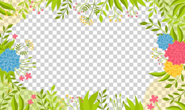 Transparent background bright with floral elements, peonies. trendy creative empty card . floral frame design, botanical abstract composition.