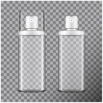 アトマイザー入り透明ボトル。