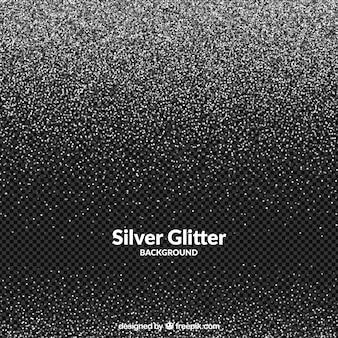 Transparent glitter background