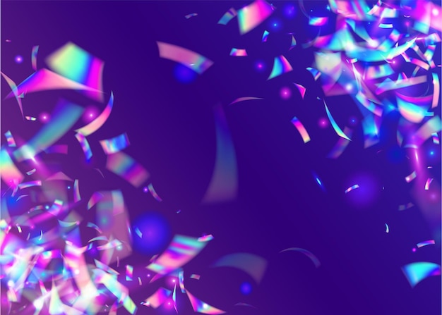 Transparent glitter. tinsel. crystal art. blue shiny glare. fantasy foil