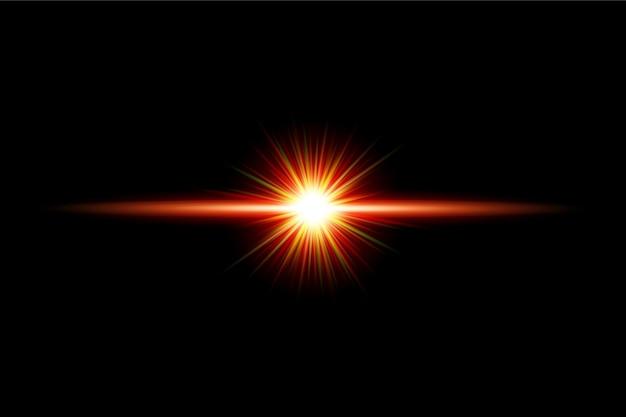 Прозрачный световой эффект вспышки фона дизайн eps