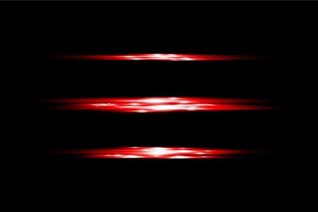 透明光フレア効果赤色背景デザインeps