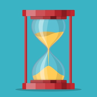 Прозрачный значок песочные часы