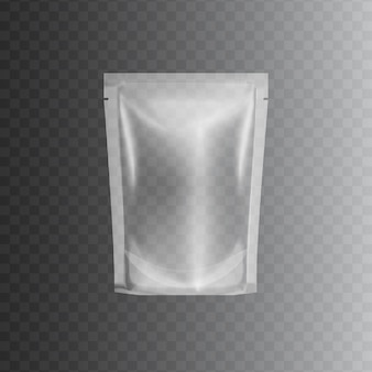 透明な密封されたビニール袋