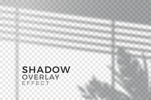 Transparent shadows overlay effect theme