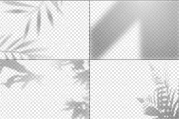 Прозрачный эффект наложения теней
