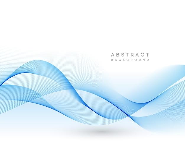 Иллюстрация прозрачной гладкой волны