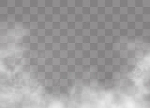 透明な特殊効果が霧や煙で際立ちます。白い雲、霧またはスモッグ。