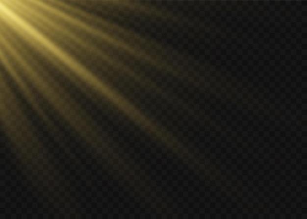 Transparent sunlight special lens flash light effect.front sun lens flash.   blur in the light of radiance.