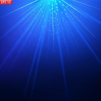 Прозрачный солнечный свет специальные линзы вспышка световой эффект передняя солнечная линза вспышка.