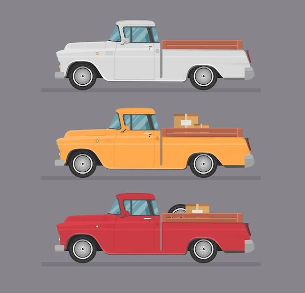 Transport design flat illustration isolated