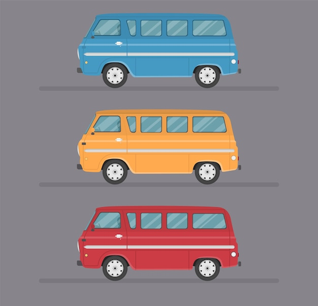 Изолированная иллюстрация квартиры транспортного дизайна