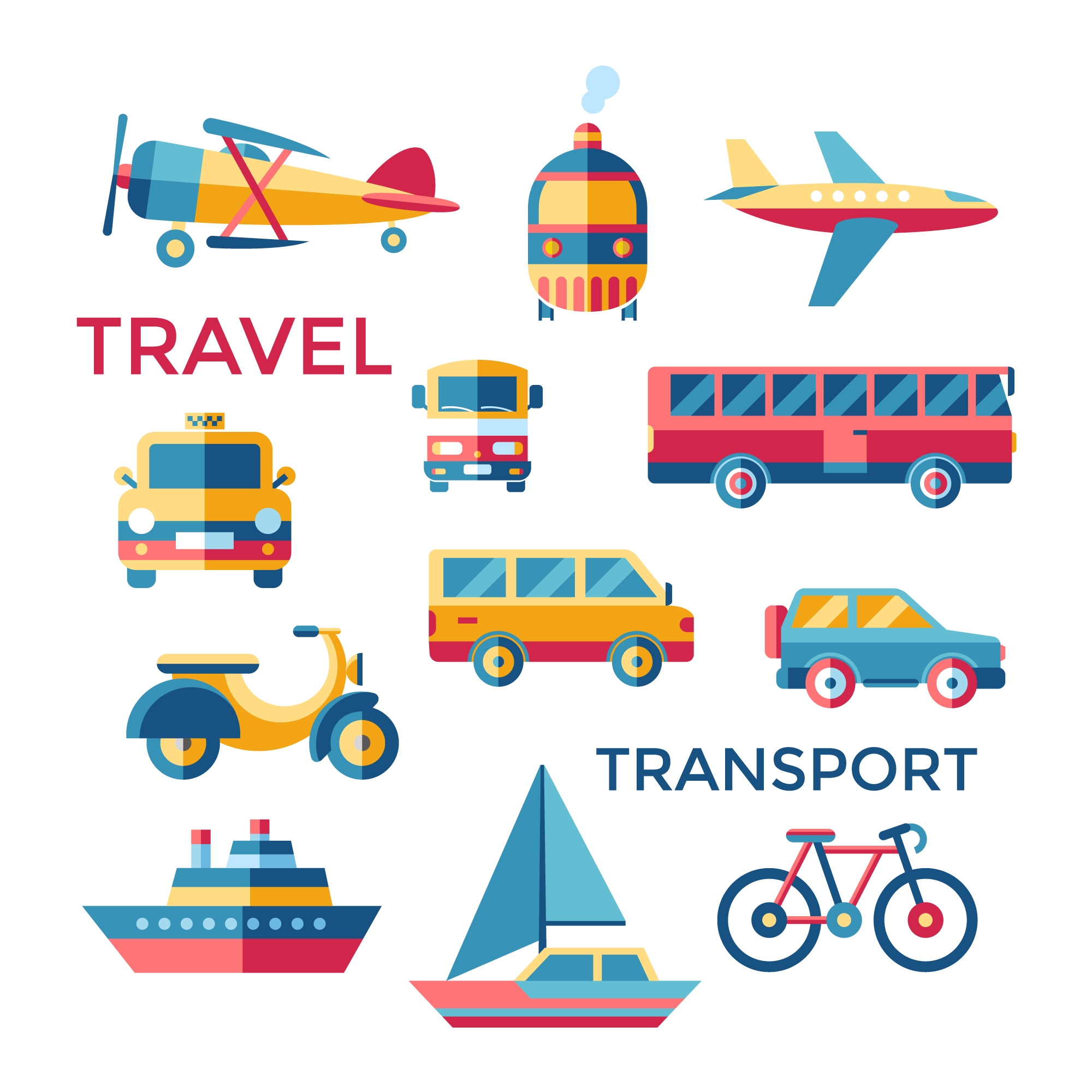 Transport elements collection