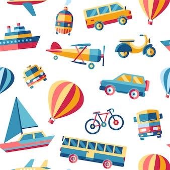 Transport pattern background