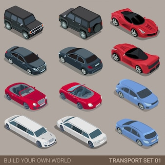 Transport set car