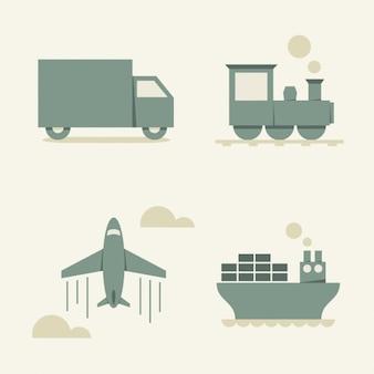 Коллекция транспортные средства