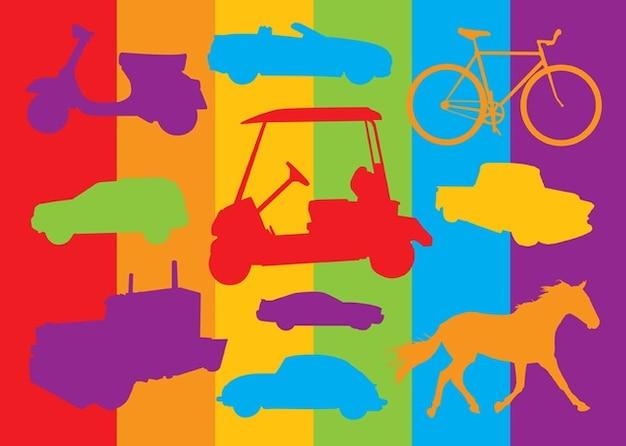 Transport vehicles graphics