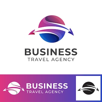 Travel agency business logo