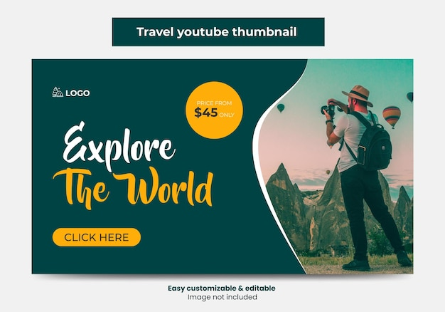 여행사 유튜브 썸네일 디자인 및 웹 배너