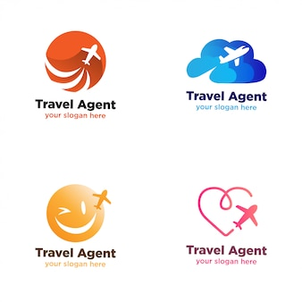 Туристический агент, логотип компании logo