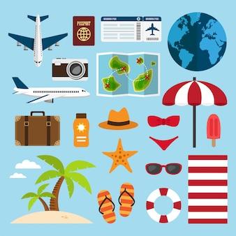 Путешествия и отдых на пляже