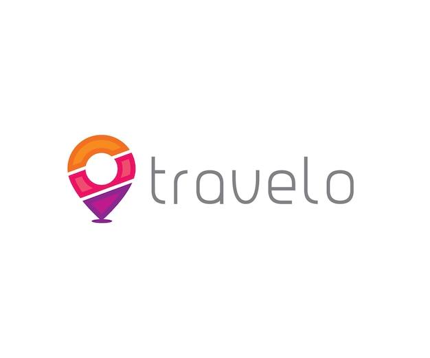Логотип путешествия и тура