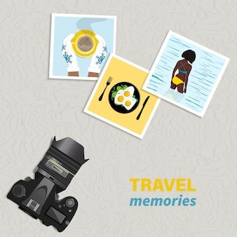 여행 및 휴가 개념