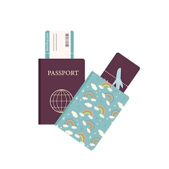Туристические и отпускные паспорта и билеты