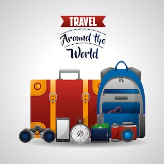 Travel around the world