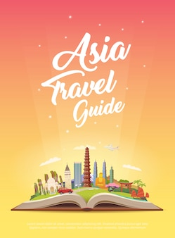 Travel to asia. road trip.