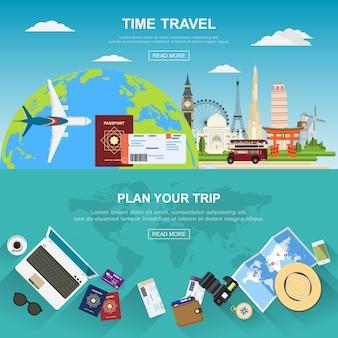 Travel background.