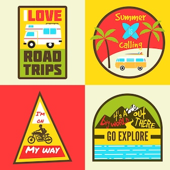 Travel badges