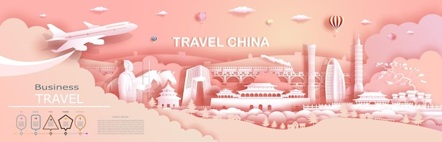 Travel company to china top world famous palace and castle architecture.