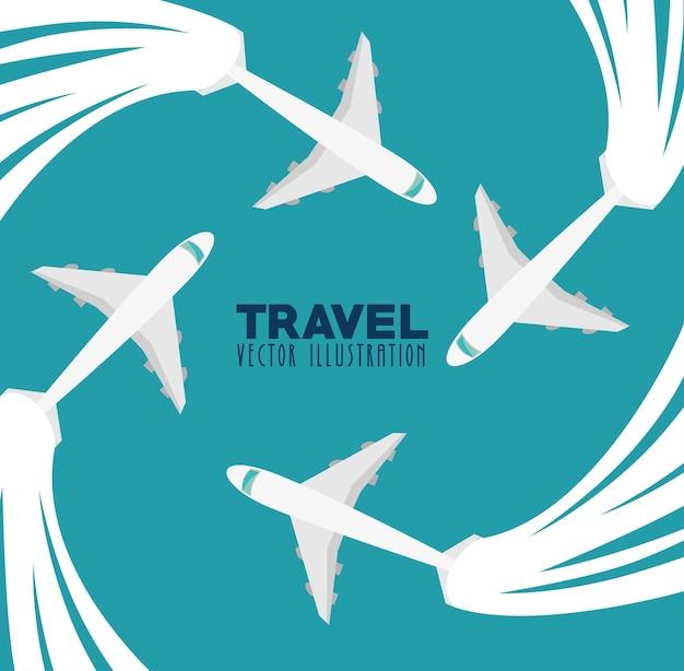 여행 컨셉 디자인