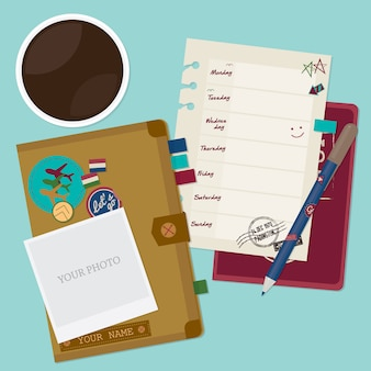 Travel concept template . travel and tourism background.