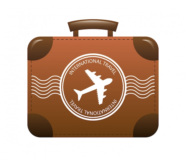 Travel design over white background vector illustration