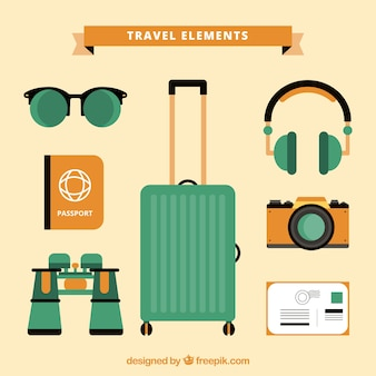 Travel elements collection