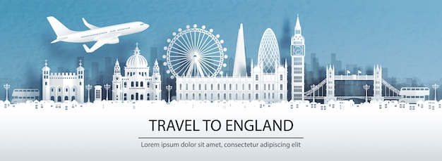 Travel to england with famous landmark.