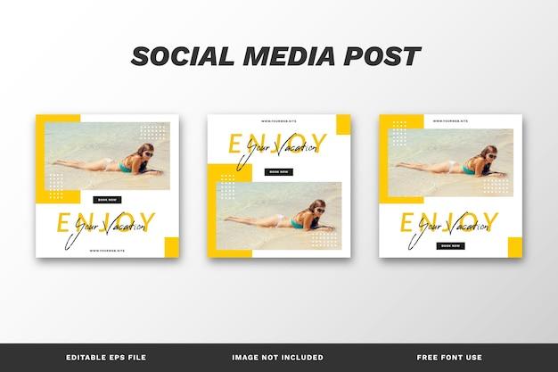 Путешествие, отпуск, отпуск, публикация в социальных сетях