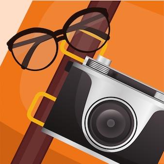 Travel icon, vector illustration
