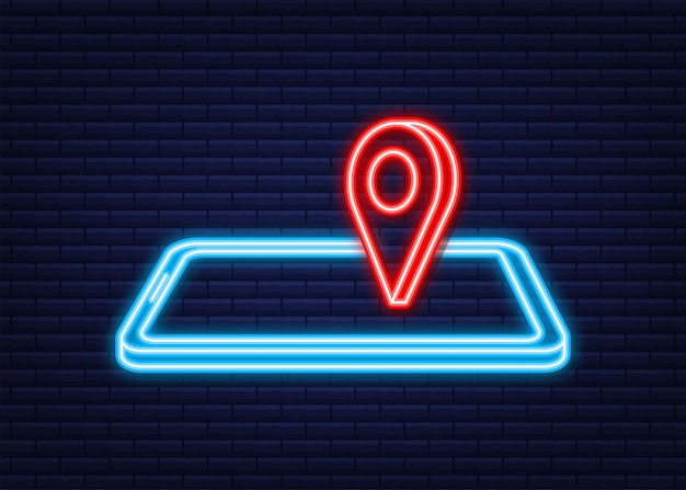 Travel icon for web design. business icon. neon style. vector illustration.