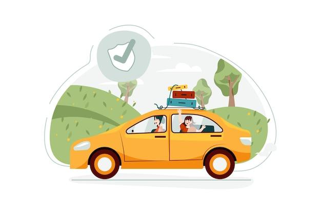 여행 보험 그림